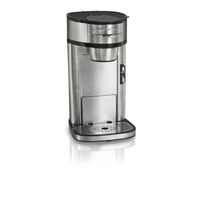 Hamilton Beach (49981A) Single Serve Coffee Maker, Stainless Steel