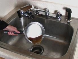 sink unclog with Dish Detergent