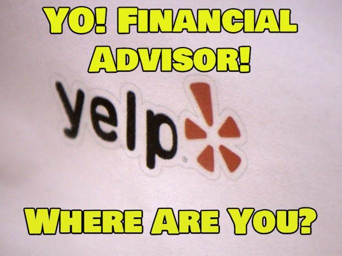 financial advisor on yelp