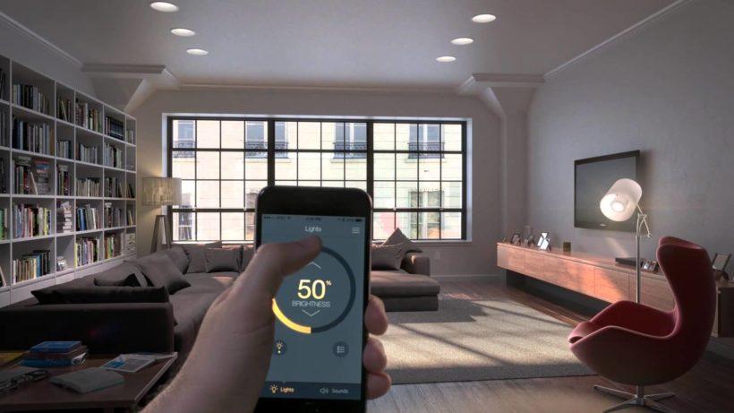 Smart Home Casa Intelligente Con Hi Tech E Siri