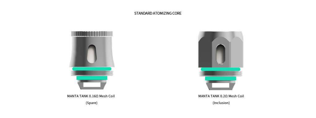 Advken Manta Tank Coils