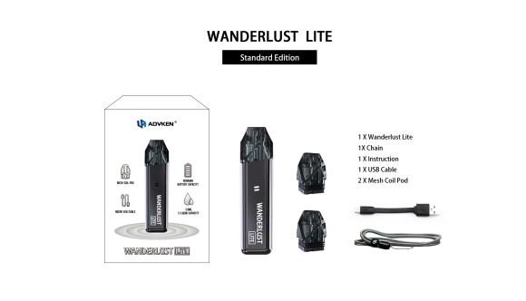 Advken Wanderlust Lite Includes