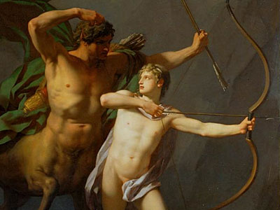 Image result for chiron and achilles