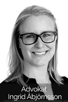 Advokat Ingrid Åbjörnsson