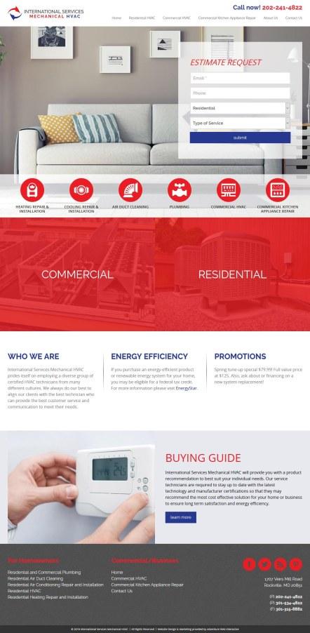 International Services Mechanical HVAC
