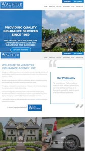 Website Re-Launch: Wachter Insurance