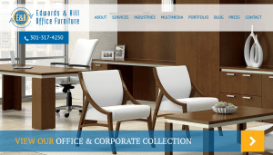 Website Launch: Edwards & Hill Office Furniture