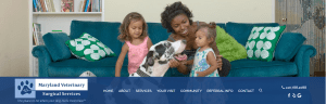 Maryland Veterinarian Surgical Services Website