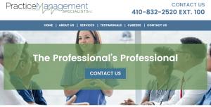 Website Launch: Practice Management Specialists, Inc.