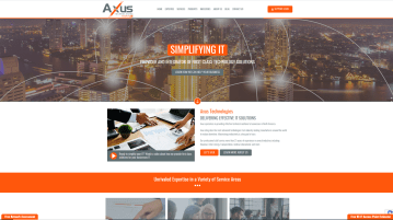New Website Launch: Axus Technologies