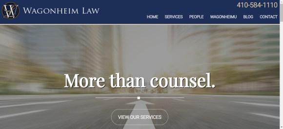 Website Launch: Wagonheim Law