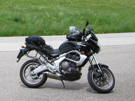 The Versys is a good motorcycle for short riders
