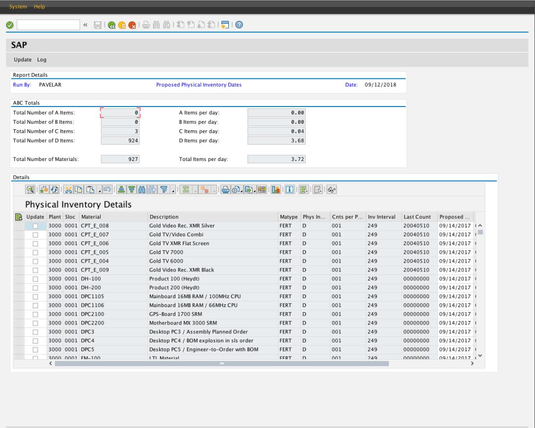 AdvancedCount for SAP Logistics