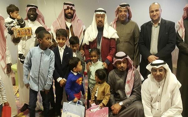ملتقى رواد ومواهب يقوم بزيارة إلى جمعية كيان للأيتام مجهولي
