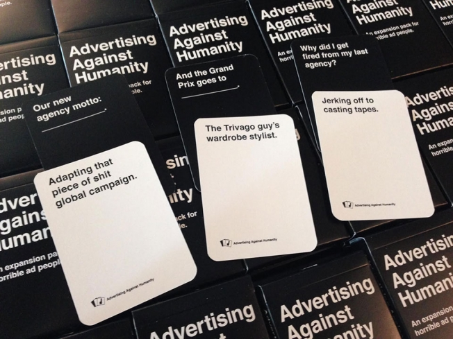If Youre A Horrible Ad Person Youll Love This Cards