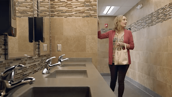 this truck stop chains 100 million bathrooms star in its new ad campaign - Beautiful Restrooms
