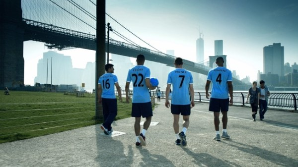Manchester City Stars Take Manhattan in Fun Ad for Sister ...