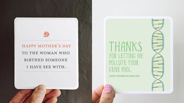 This Agency's Mother-in-Law Cards for Mother's Day Are ...