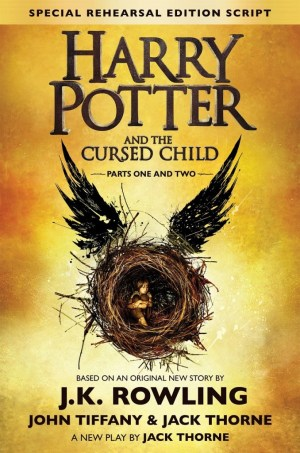 Harry Potter and The Cursed Child Script Book (GalleyCat)