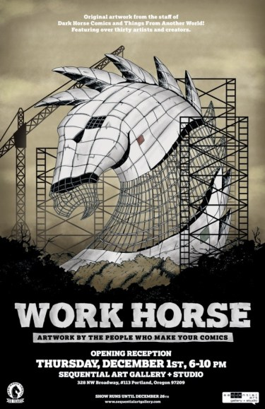 Work Horse Poster (GalleyCat)