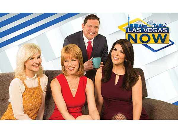 The hosts of Las Vegas NOW (L-R):