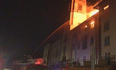 Uganda's Oldest University Destroyed By Fire. 8