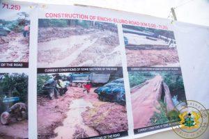 Akufo-Addo inspects Dadieso Roads projects 10