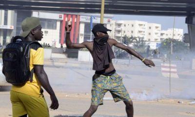 Guinea Elections: Violent Protests As Alpha Condé Set For Victory. 14
