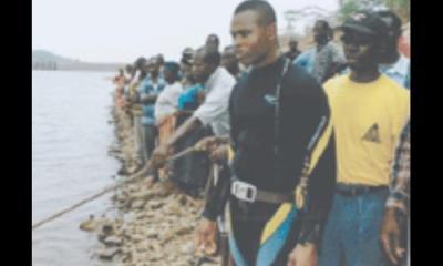 Unidentified dead body retrieved from Volta River. 10