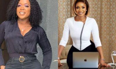 Popular Nigerian Female Presenter Calls Serwaa Amihere Her Wife. 2