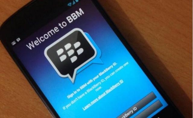 mengatasi aplikasi bbm tidak bisa dibuka