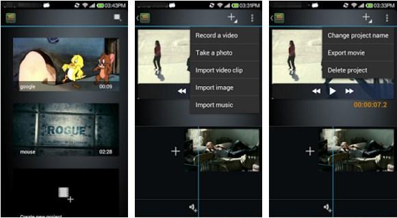 Aplikasi Pembuat Film di Android