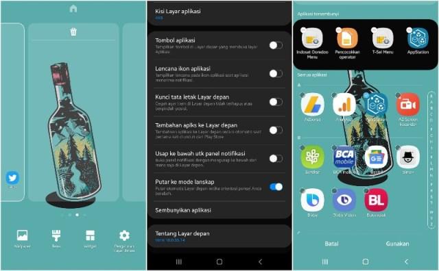 Cara menyembunyikan aplikasi di Samsung Galaxy One UI