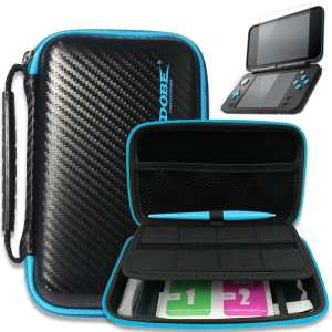 nintendo 2ds xl carry case protective kit