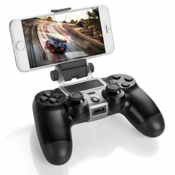 ps4 smart clip controller mount clamp iphone android