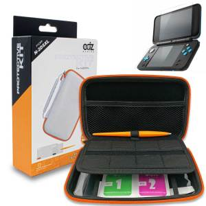 TYD-055 white 2ds xl carry case protective kit