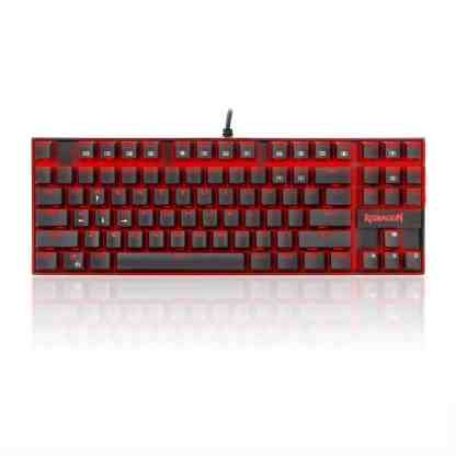 redragon k552 kumara red led mechanical gaming keyboard