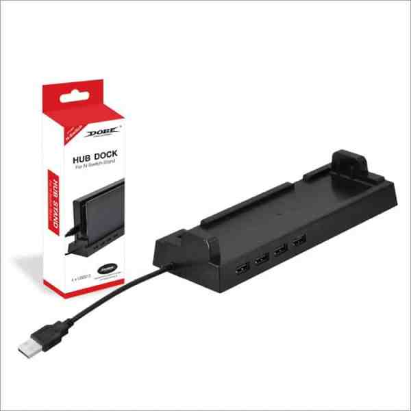 Dobe TNS-1849 nintendo switch stand dock usb hub charger