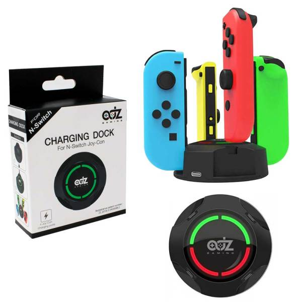 nintendo switch joy con controller charger charging dock station