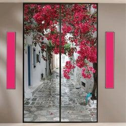 decoration porte de placard