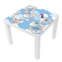 sticker jeux de l oie table ikea milack025