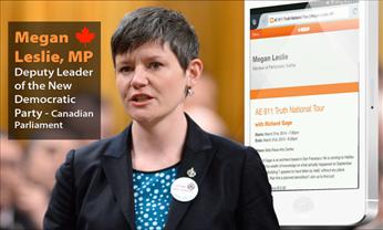 Megan Laslie MP controversy