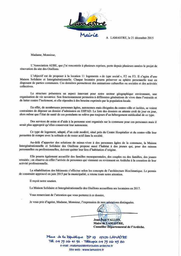 AEBE lettre soutien(