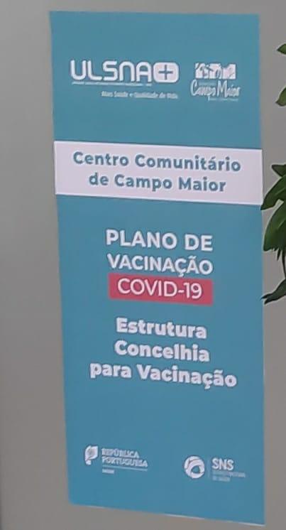 1ª Fase de Vacinação foi concluída