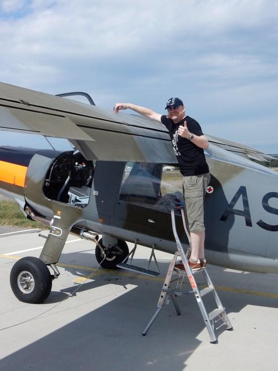 Fliegerwerft Sommerausflug27
