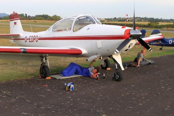 Fliegerwerft Sommerausflug47