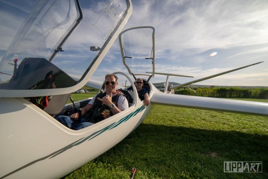 Vom Jagdpiloten zum Segelflieger