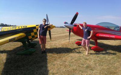 Doppelerfolg für den AeC Bad Nauheim im Motorkunstflug