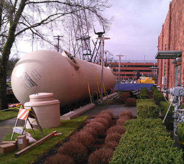 Salem Hospital System Upgrades - One Giant Tank