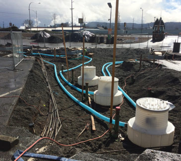 Longview Speedy Mart Fuel Upgrade - New Islands and Sumps